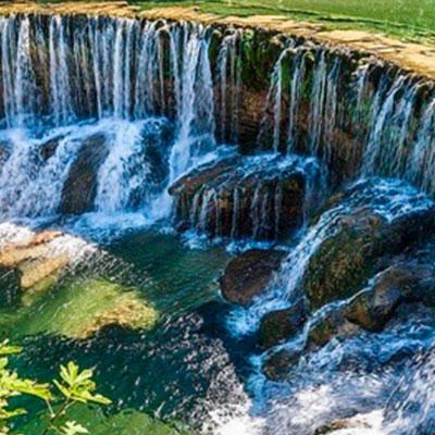 Baignade à la cascade de la vis - Hérault
