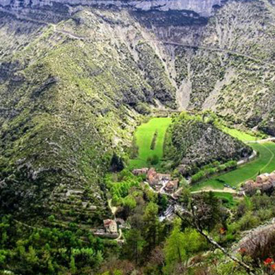 Randonnée au Cirque de Navacelles - Languedoc Roussillon