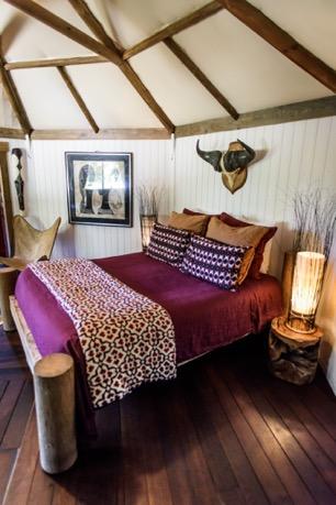 Vacance, weekend dans un lodge Africain de luxe dans l'Hérault
