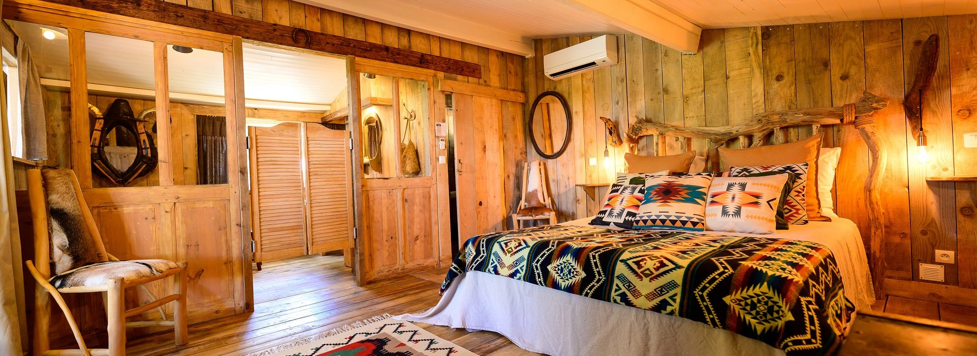 Cabane en bois luxe Chippawa