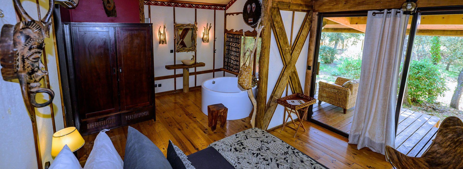 Lodge africain Tanzani