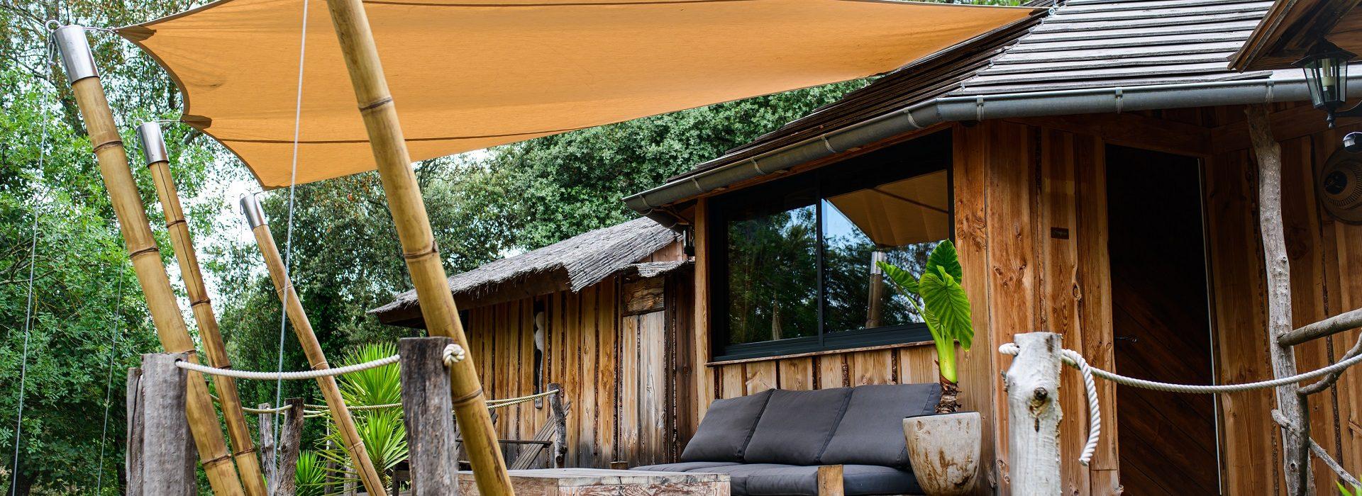 Loge safari luxe afrique Nivaquine