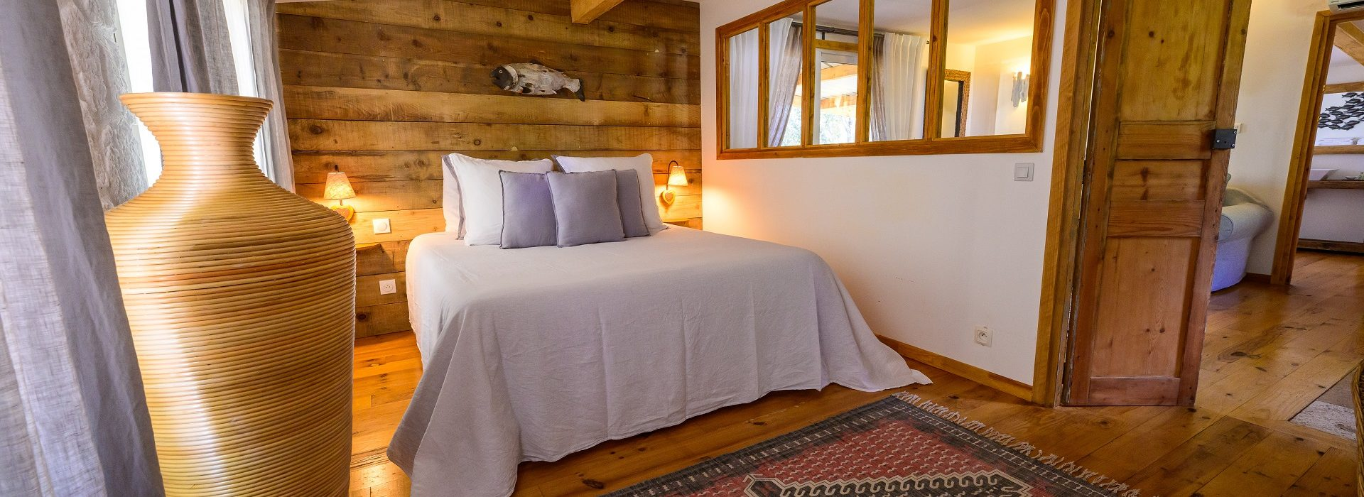 Maison en bois Chambre dhote luxe herault