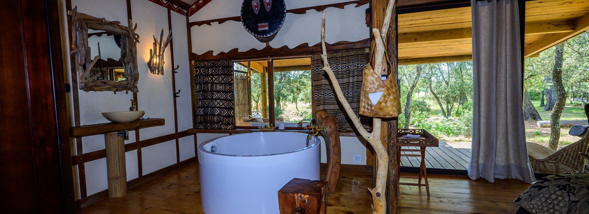 Safari lodge africain luxe